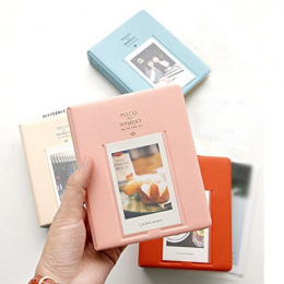 64 kieszenie Polaroid Photo Album Mini Błyskawiczne Zdjęcie Case Przechowywania Dla Fujifilm Instax Mini Film 8 Korea Instax Alb