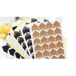 DIY księga gości Retro papieru wklej styl album corner 24 wiskoza na Arkusze 8 kolorów do wyboru DARMOWA WYSYŁKA