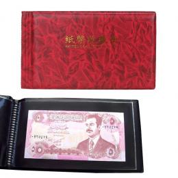 20 Stron album fotograficzny Album Papier Pieniądze Posiadaczy Banknotów Waluty Monety Album album na monety Odbiór Przechowywan