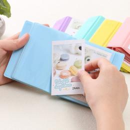 Instax mini 8 album z 28 Kieszenie Przenośne obraz albumu karty PCV album dziecko rodziny dekoracji Zdjęcia Polaroid albumu