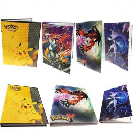 2017 Kolekcja Pikachu Pokemon karty posiadacz album Album Książka Top Lista załadowany pokemon karty do gry zabawki dla Novelty