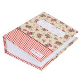 100 Kieszenie Album Zdjęć Przechowywania Pamięci Trzymać Case Book Ślub Graduation Floral Albumu Notatniku (Losowy Kolor Wysyłka