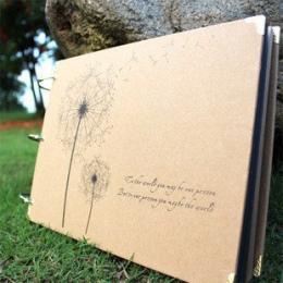 10 Cal DIY Album Dmuchawiec AlbumDiy Serii DIY Handmade Naklejki Scrapbooking Albumy Zdjęć dla Kochanka Ślub Dziecka 10 Stron