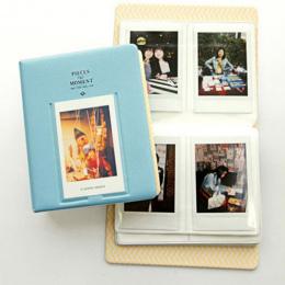 64 kieszenie PCV Albumu Case Przechowywania Polaroid Photo Dla Mini Fuji Film Instax Dla Karty Kredytowej Banku Karty ID Karty k