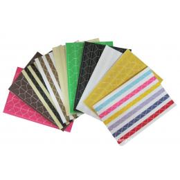 4 zestaw z 408 sztuk Kolorowe Zdjęcie Rogu Papieru Naklejki dla Zdjęcia Albumy Zdjęć Ramki Scrapbooking