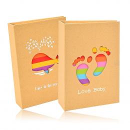 2 sztuk 6 cal Dziecka Album fotograficzny Fotografico 100 Zdjęcia Porta Albunes De Fotos Pamięci Książka Zdjęcie Bagażu Fotoalbu