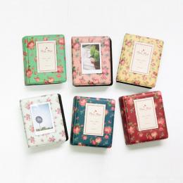 6 style 64 Kieszenie Album fotograficzny dla Mini Fuji Instax Polaroid Nazwa Karty Luźnych kartkach Albumu fotograficznego Gorąc