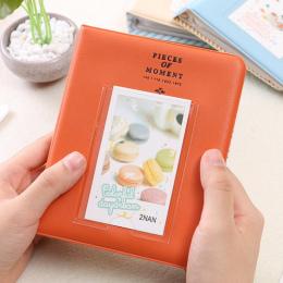 Drop shipping 64 Przedziały Rozmiar Mini Album fotograficzny dla Instax Mini 7 s 8 25 50 s 90 Nazwa Karty Karta kredytowa