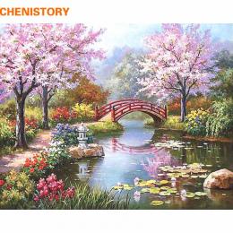 CHENISTORY Bajkowy Romantyczny MAJSTERKOWANIE Malowanie Przez Numery Płótnie Malarstwo Home Decor Ręcznie Malowane Wall Art Pict