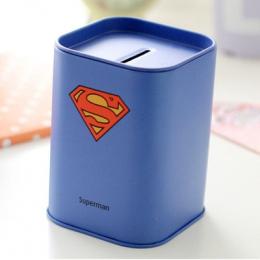 Darmowa Wysyłka 1 X Superhero Money Box Kreatywny Penholder Dzieci Urodziny Boże Narodzenie Prezent Skarbonka