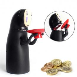 Elektroniczny Anonimowa Człowieka Money Box Duch Rysunek Monety Cartoon Bez twarzy Skarbonka Śmieszne Zapisywanie Box #11030