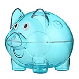 Cartoon Dzieci Świnia Money Saving Box Klasyczne Przezroczysty Decarate Plastikowym Pudełku Monety Skarbonka 4 Kolor