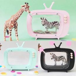 Drewniane nowy wyświetlacz TV set skarbonka dzieci pokoju fotografia rekwizyty drewniane TV box dekoracji domu