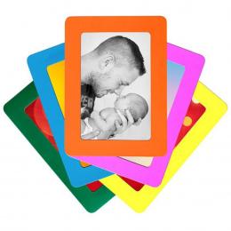 Kolorowe Magnetyczne Ramki Do Zdjęć 11.8*16 cm Photo Photoframe Lodówki Magnesami PCV 160mm * 118mm Zdjęcia Magnetyczne ramki #4