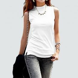 2016 kobiet jesień zima bez rękawów solid color Topy i Koszulki bawełniane Zbiorniki topy i Camis kobiety lady Vest 10 kolory