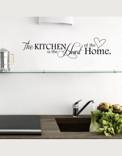 Nowa Kuchnia Jest Sercem Domu List Wzor Naklejki Scienne Pcv