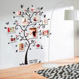 100*120 cm/40 * 48in 3D DIY Wymienny Drzewo Zdjęcia Pcv Naklejki Ścienne/Klej Naklejki Ścienne mural Art Wystrój Domu 6031