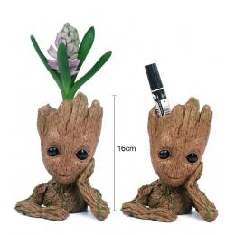 Drop shipping 16 cm Dziecko doniczka Figurka Doll Phoneholder Strażnicy Galaktyki 2 Model pióra pot Dzieci zabawki