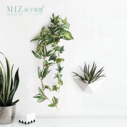 Miz 1 Sztuka Wazon Wiszące Ścienne Dekoracyjne Roślin Doniczkowych Mały Wazon Doniczka na Ścianie Dekoracji Wnętrz Akcesoria POD