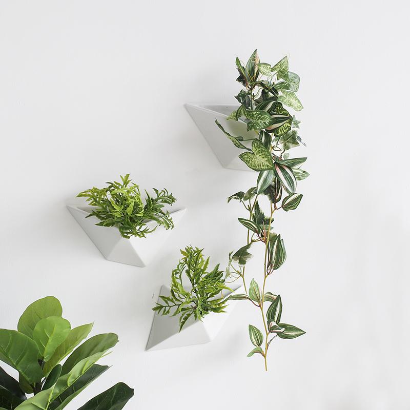 Wazon Wiszący ścienny Dekoracyjny Dla Roślin Doniczkowych