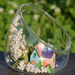 DIY Hydroponicznych Roślin Kwiat Pojemnik Terrarium Wiszące Szklanym Wazonie Sadzenia Kula Styl Domu Ogród Wedding Party Decor