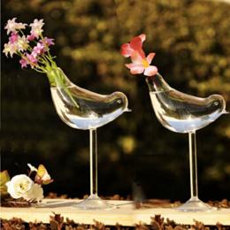 Kreatywny wazon szkła wazon tall ptaków Home Decoration hotel decor kwiat pojemniki dekoracje ślubne prezent Kilka prezentów