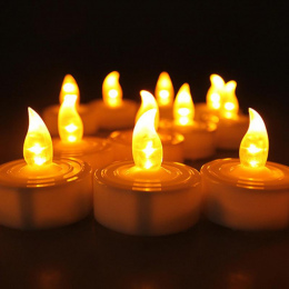 1 pc Elektroniczny LED Światło Świecy Bezdymnego Bezpłomieniową Świeca Na Ślub Urodziny Decor