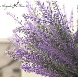 Romantyczny Prowansja dekoracji kwiat lawendy sztuczny jedwab kwiaty ziarna dekoracyjne Symulacji roślin wodnych