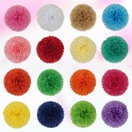 AJP 1 kawałek pompon Bibuły Pom Poms Flower Piłki dla sala weselna Dekoracja Zaopatrzenie Firm diy craft paper flower