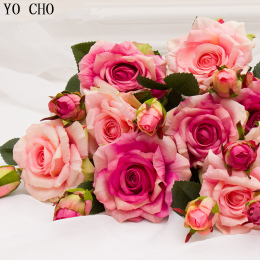 Prawdziwe dotykowy wzrosła świąteczne dekoracje dla domu silk sztuczne piwonia dekoracji Ślubnej marrige dekoracyjne kwiat Party