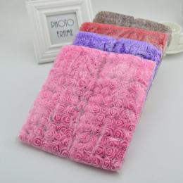 144 sztuk sztuczne MINI piankowe róże kwiaty dla domu Ślubne Decora diy robótki bride wieniec pudełko fałszywy Bukiet Kwiatów