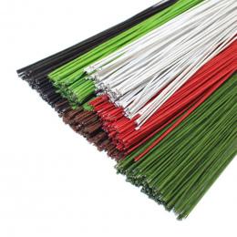 CCINEE 50 SZTUK #26 Papieru Drutu 0.45mm/0.0177 Cala Średnicy 40 cm Długości Drutu Żelaznego Wykorzystywane Do DIY Nylon Stockin
