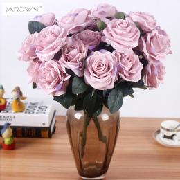 Sztuczny jedwab 1 Bukiet Róży Francuskiej Kwiatowy Bukiet Fałszywe Kwiat Zorganizować Tabeli Daisy Kwiaty Ślubne Decor Strona ak