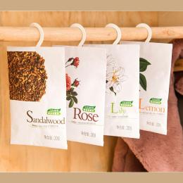 6 Szafa Szuflada Zapach Domu Samochód Perfumy Pachnące Smak Świeżego Powietrza Aromaterapia Saszetka Torba pakiet