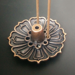 1 SZTUK Lotus Kwiaty Wzór Posiadacz Kadzidła Kadzidła Palnika Kij Baza Wtyczka Home Decoration 3 Style!!!