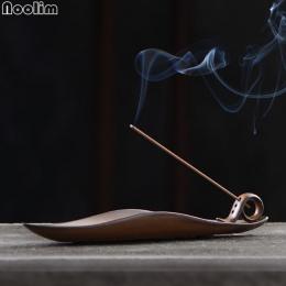 NOOLIM Censer Holder Rocznika Longquan Pieca Świątyni Buddyjskiej Budda Kadzidełko Dostarcza Chiński A liści łodzi Kadzidło Paln