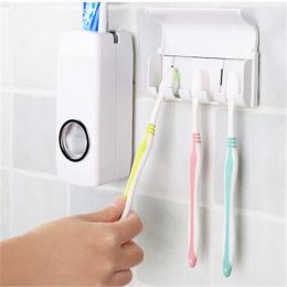 Wysokiej Jakości Zestawy Łazienkowe Nowy Automatyczny Dozownik Pasty Do Zębów Szczoteczki do zębów Zestaw