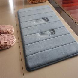40*60 cm Maty Do Kąpieli Łazienka Dywan Absorpcji Wody Dywan Shaggy Memory Foam Łazienka Mat Zestaw kuchnia Drzwi Podłogi tapis