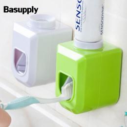 Basupply 1 pc Nowy Wolne ręce Automatyczne Dozownik Do Zębów Squeezer Wycisnąć Do Montażu Na Ścianie Łazienki Akcesoria 4 Kolory