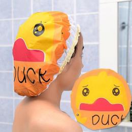 AsyPets Cute Cartoon Zwierząt Wodoodporna Prysznic Cap Resuable Koronki Gumką Kąpieli Włosów Czapki Kapelusz-45