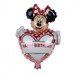 XXPWJ 1 sztuk Darmowa Wysyłka Nowy Mini Minnie Aluminium Balon Balony Dzieci Zabawki Urodzinowe Dekoracyjne B-017
