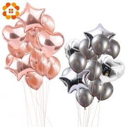 14 sztuk 12 cal 18 cal Multi Powietrze Balony Szczęśliwy Urodziny Helem Balonu Dekoracje Festiwal Ślub Balon Party Supplies