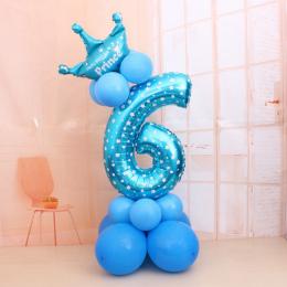 1 zestaw Cyfrowy Balony Liczba Balony Foliowe Urodziny Ślub Boże Narodzenie Festiwal Party Decor Akcesoria Air Balloon