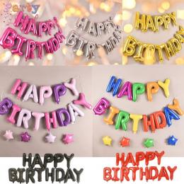 Szczęśliwy Urodziny balon powietrza Litery Alphabe ramadan balony foliowe dzieci zabawki wedding party urodziny helem globos par