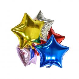 Balony foliowe Gwiazda Piłki Szczęśliwego Nowego Roku Strona Dekoracji Powietrza Helem Balony Domu Na Boże Narodzenie Prezent Na
