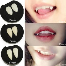 5 Style Makabryczny Zabawne Clown Sukienka Vampire Kły Zęby Halloween Party Rekwizyty Diabeł Zombie Protezy Zębów Z Dental Gum