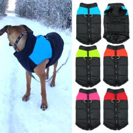 Wodoodporna Pet Dog Puppy Vest Kurtka Chihuahua Odzież Ciepłe Zimowe Ubrania Dla Psów Płaszcz Dla Małe Średnie Duże Psy 4 Kolory