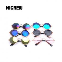 Nicrew Pies Kot Pet Okulary Dla Produktów Domowych Oczu nosić Dog Pet Okulary Zdjęcia Rekwizyty Akcesoria Pet Supplies Kotów oku