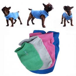 Zima Polar Pet Odzież dla Psów Puppy Odzież Buldog Francuski Płaszcz Mops Kostiumy Kurtka Dla Małych Psów Chihuahua Hondenkledin