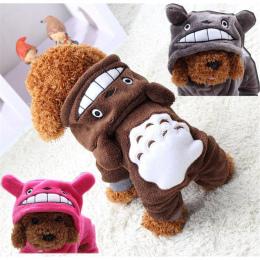 Śliczne Dog Odzież Zimowa Pet Płaszcz Odzież Dla Psów Chihuahua Puppy Strój Zima Pies Ubrania Dla Małych Psów Zwierzęta Kapturem
